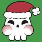 Santa Skull by manikx