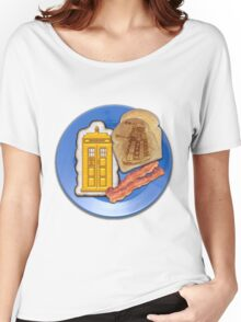 Whovian Breakfast Women's Relaxed Fit T-Shirt