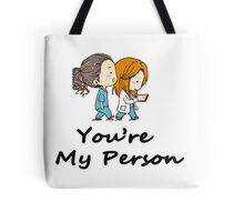 Grey's Anatomy - You are my person Tote Bag