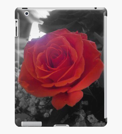 Film Noir Rose iPad Case/Skin