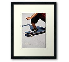 Skate  Framed Print