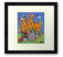 Miracle World Rogues Framed Print