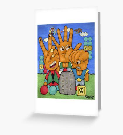 Miracle World Rogues Greeting Card