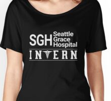 Grey's Anatomy - Seattle Grace Hospital Intern Women's Relaxed Fit T-Shirt