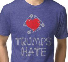 Love Trumps Hate, Too Tri-blend T-Shirt