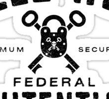 Belle Reve Federal Penitentiary Sticker