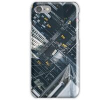 Taxi all over town iPhone Case/Skin