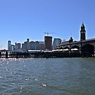NY Waterway ferry slips Hoboken NJ by pmarella