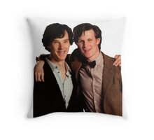 Sherlock and Eleven Throw Pillow