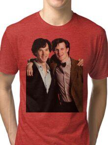 Sherlock and Eleven Tri-blend T-Shirt