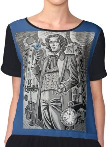 The Eighth Doctor Chiffon Top