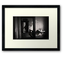 Going to the other side Framed Print
