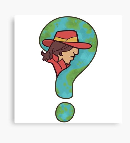 Where in the world is Carmen Sandiego? Canvas Print