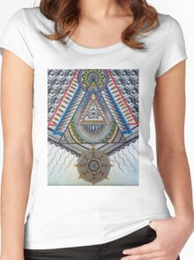 Sacred Temple Women's Fitted Scoop T-Shirt