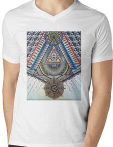 Sacred Temple Mens V-Neck T-Shirt