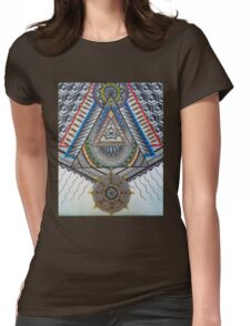 Sacred Temple Womens Fitted T-Shirt