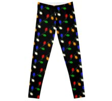 Traditional Multi C9 Christmas Lights Leggings