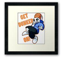 undertae dunk Framed Print