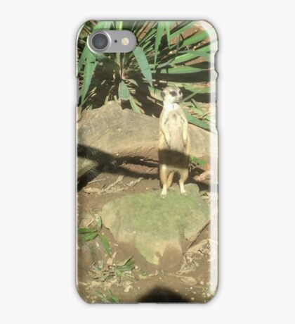prarrie dog guarding home iPhone Case/Skin