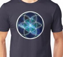 Sacred Geometry: Seed of Life - Cosmic Genesis Unisex T-Shirt