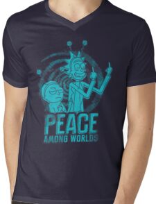 Peace Among Worlds Mens V-Neck T-Shirt