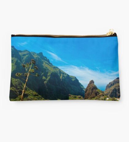 Masca - the most beautiful place on earth Studio Pouch