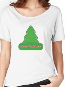 Christmas tree. New Year Christmas. Women's Relaxed Fit T-Shirt