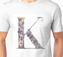 """Th Letter """"K"""" Unisex T-Shirt"""