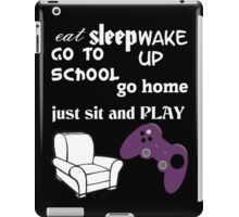REAL PLAN OF GAMER iPad Case/Skin