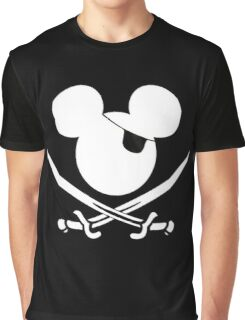 pirate mouse Graphic T-Shirt