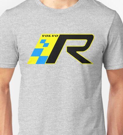 Volvo R Design Racing Graphic YEL2 Unisex T-Shirt
