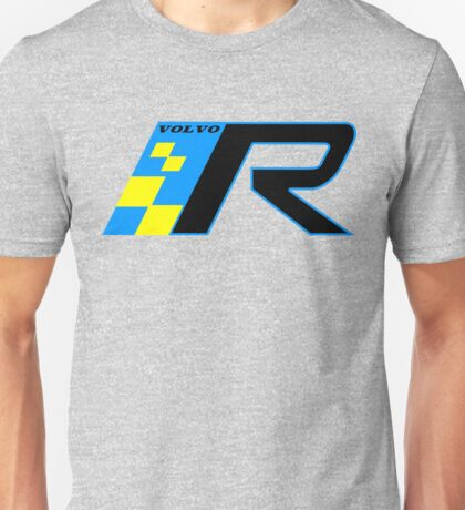 Volvo R Design Racing Graphic BLU4 Unisex T-Shirt