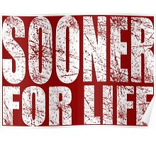 Sooner for Life Poster