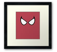 Spidey Eyes Framed Print