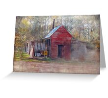 Little Country Store in the Woods Greeting Card