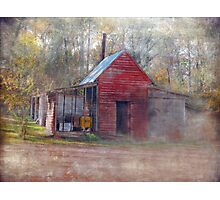 Little Country Store in the Woods Photographic Print