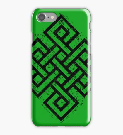 The Ancient Endless Knot  iPhone Case/Skin