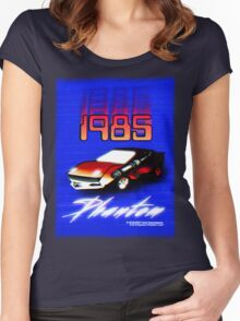 1985 PHANTOM - Static Editions Women's Fitted Scoop T-Shirt