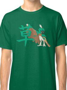 Decidueye With Grass Kanji Classic T-Shirt