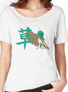 Decidueye With Grass Kanji Women's Relaxed Fit T-Shirt
