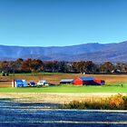 Autumn Farm HDR by James Brotherton