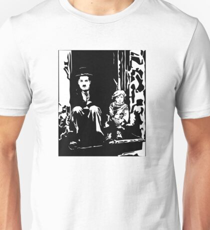 The Kid Charlie Chaplin Unisex T-Shirt