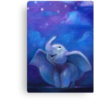 'To Fly Among the Stars' Canvas Print