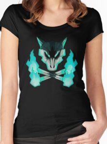 Pokemon - Alolan Marowak Skull Women's Fitted Scoop T-Shirt
