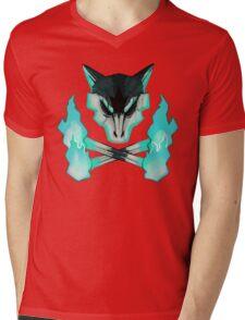 Pokemon - Alolan Marowak Skull Mens V-Neck T-Shirt
