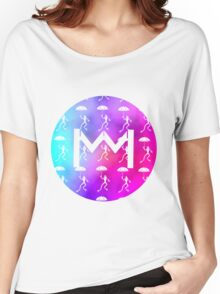 Monarchy Tie Dye Tee Women's Relaxed Fit T-Shirt