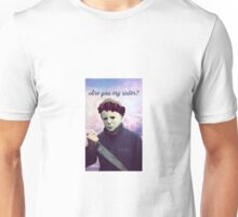 Micheal Myers Pastel Unisex T-Shirt