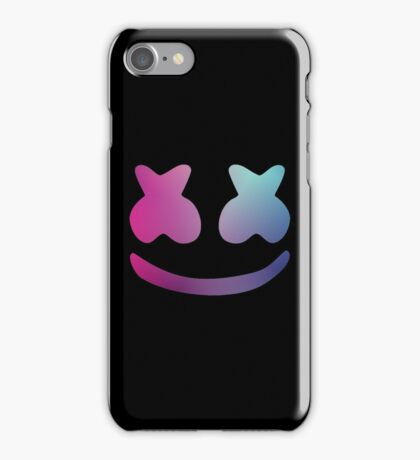 Marshmello - Galaxy Color iPhone Case/Skin