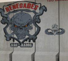 550th ASMC Sticker
