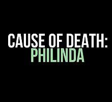 Cause of Death: Philinda by fandangno